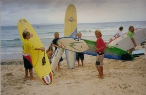Julian Wilson And Groms, Noosa Festival 2000